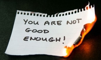 you are not good enough